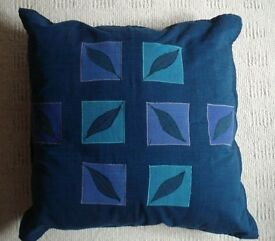 "4 ""As New"" Scatter Cushions with 100% Cotton Covers"