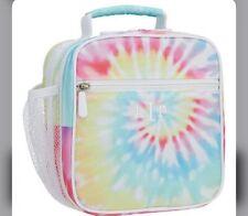 Pottery Barn Teen Gear Up Rainbow Tie Dye Lunchbox No