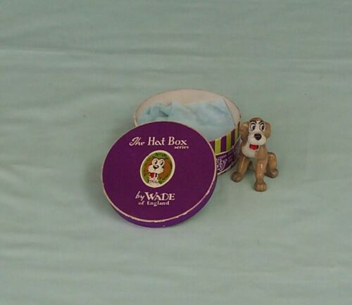 Wade Toughy Whimsies Disney Hat Box Series Figurine England Lady & The Tramp 16