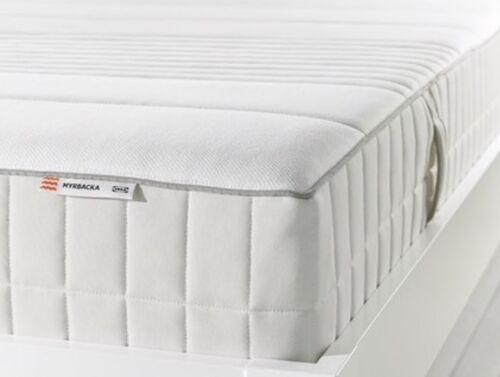 "Ikea Myrabacka Latex Matress Full Size  White 53 X 74"""