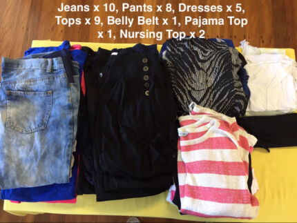 Size 10 to 16 Maternity Clothes (36 items!!!) - Bulk Buy
