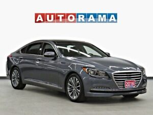 2016 Hyundai Genesis 3.8 NAVI BACK UP CAM LEATHER SUNROOF AWD