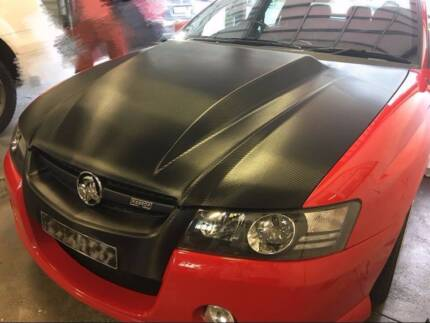 3m avery dennison hexis Car vinyl wrapping roof bonnet