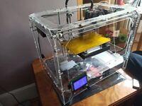 CTC Bizer Dual Extrusion 3D Printer (Makerbot clone)