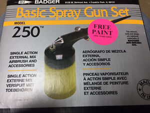 Badger spray gun set / airbrush / paint