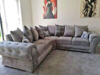 EXPRESS DELIVERY! BRAND NEW CHESTERFIELD ARMS VERONA CORNER SOFA AND 3+2 SET ON SPECIAL OFFER
