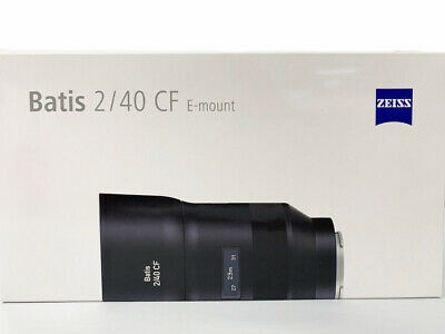 Carl Zeiss Batis 40mm F/2.0 Lens for Sony E Mount  2/40
