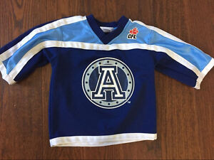 Toronto Argos jersey size 4 but fits 2-4 year ikd