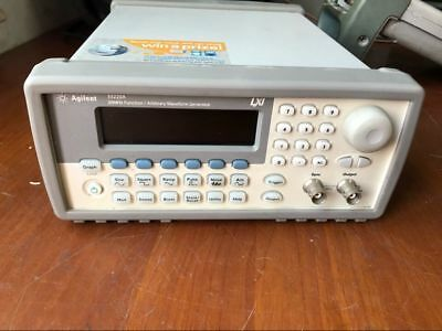 Hp Agilent 33220a Function Arbitrary Waveform Generator 20mhz H592g Dx