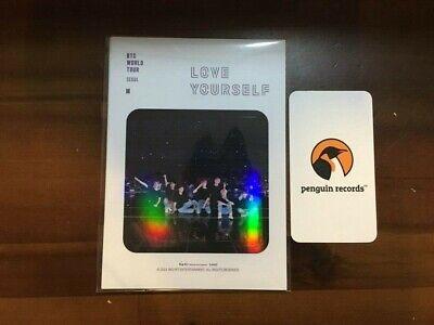 BTS LOVE YOURSELF SEOUL DVD PRE-ORDER BENEFIT 4 STICKER SET