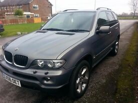BMW X5 M SPORT EXCLUSIVE ED 2006 3.0 DIESEL AUTO. NEW MOT GREAT FOR WINTER P/EX or SWAP considered