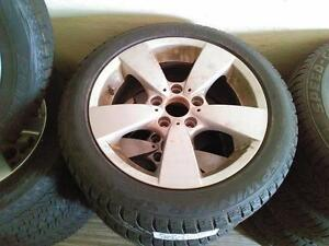 BMW WINTER PACKAGE RIMS+TIRES (RUNFLAT)