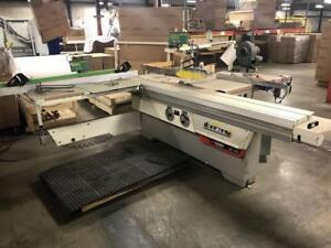 Casadei 10ft sliding table saw with tiger stop rip system
