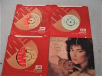 A SMALL NUMBER OF KATE BUSH SINGLES. NO REASONABLE OFFER REFUSED