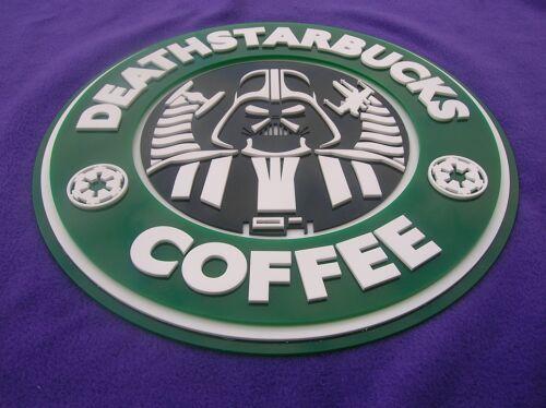 StarBucks DeathStarbucks 3D ART sign new coffee Darth Vader Star Wars Rogue One