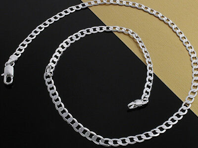 925 Sterling Silver Necklaces Womens Mens 30