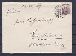 Ungarn 1917 sehr schöner Brief gelaufen nach Graz - <span itemprop=availableAtOrFrom>Graz, Österreich</span> - Rücknahmen akzeptiert - Graz, Österreich