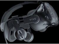 HTC VIVE with Deluxe Audio