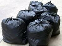 Rubbish Remover. Black bin collection weekly