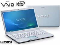 "15.6"" SONY VAIO NW series laptop •Intel® 2.20GHz •4GB RAM •HDMI •500GB HDD •WiFi •DVD-RW"