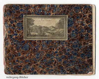 Skizzenbuch/Zeichnenheft von Johann Peter Griebel von 1834