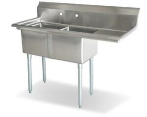 Stainless Steel Tables, Commercial Sinks from iFoodEquipment for Restaurants