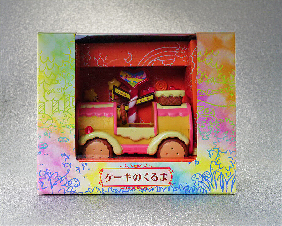 sylvanian families baby strawberry cake candy car