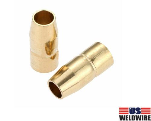 """MIG Welding Gun Nozzle 169-715 169715 1/2"""" fits Miller M-10/M-15 Hobart 5-PK"""