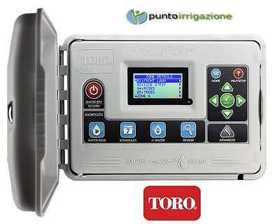 Programmer control unit TORO EVOLUTION 4 zone expandable + letterbox waterproof