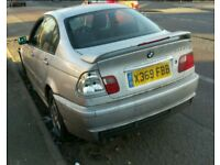 BREAKING BMW E46 330D MANUAL M SPORT SILVER 3.0 2001 SALOON MOST PARTS AVAILABLE 111k MILES