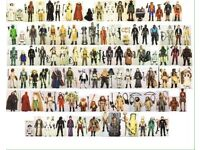 ⭐️⭐️⭐️ Wanted Vintage Star Wars Figures 1977-85 Birmingham Coventry ⭐️⭐️⭐️