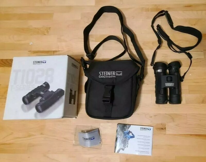 Steiner T1028 T-Series Binoculars , 10 x 28 , with Carry Case , Pre-Owned