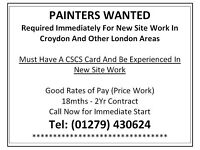 Experience Painters Required For Immediate Start - London Areas