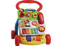 Baby Walker - Vtech First Steps Baby Walker - bright colours, sounds and lots of activities