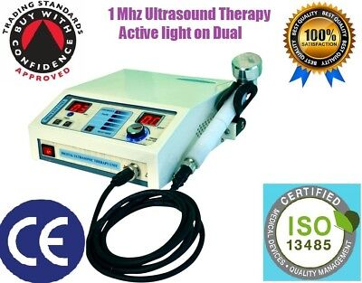 New Original Ultrasound Ultrasonic Therapy Machine For Pain Relief 1 Mhz Portabl