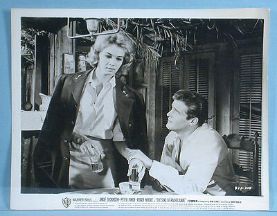 Roger Moore Angie Dickinson Sins of Rachel Cade 8 Movie Photos & Pressbook 1960