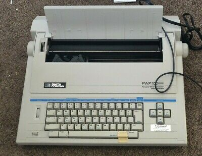 Smith Corona Pwp 100 Personal Word Processor Electric Processing Typewriter