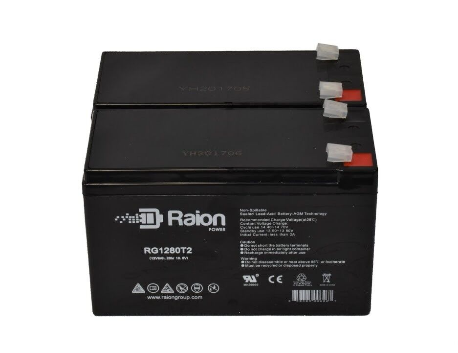 Raion RG1280T2  -  12V 8Ah Razor Ground Force Drifter Go Kar