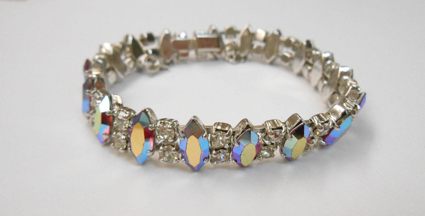 vibrant 925 borealis rhinestone necklace