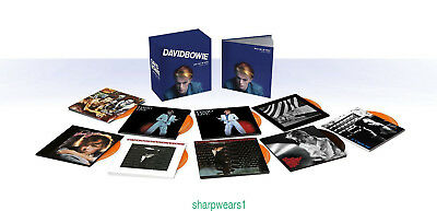"""CD David Bowie Who Can I Be Now? (1974-1976)"""" 12 CD Box Set Collection+free gift"""