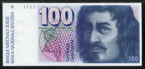 Switzerland 1988, 100 Franken, P57i, UNC
