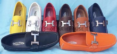 Loafer Moccasin Shoes - Men's Giovanni Moccasin Loafer Casual Formal Slip-On Dress Shoes 29510 New
