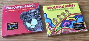 2 CDs Rockabye Baby! Rolling Stones & Beatles Lullaby Renditions