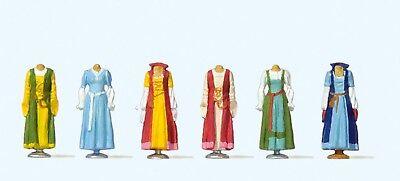 Preiser 24767 H0, Mittelalterliche Kleidung auf Ständer, handbemalt, Neu