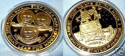 Apollo 11 Gold Coin Buzz Aldrin Lightyear Americana Sci-Fi Film Movie Genre Book