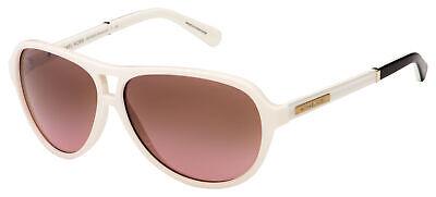 Michael Kors Wainscott Sunglasses MK 6008 301214 60 White/Black/Gold   Rose (Michael Kors White Sunglasses)