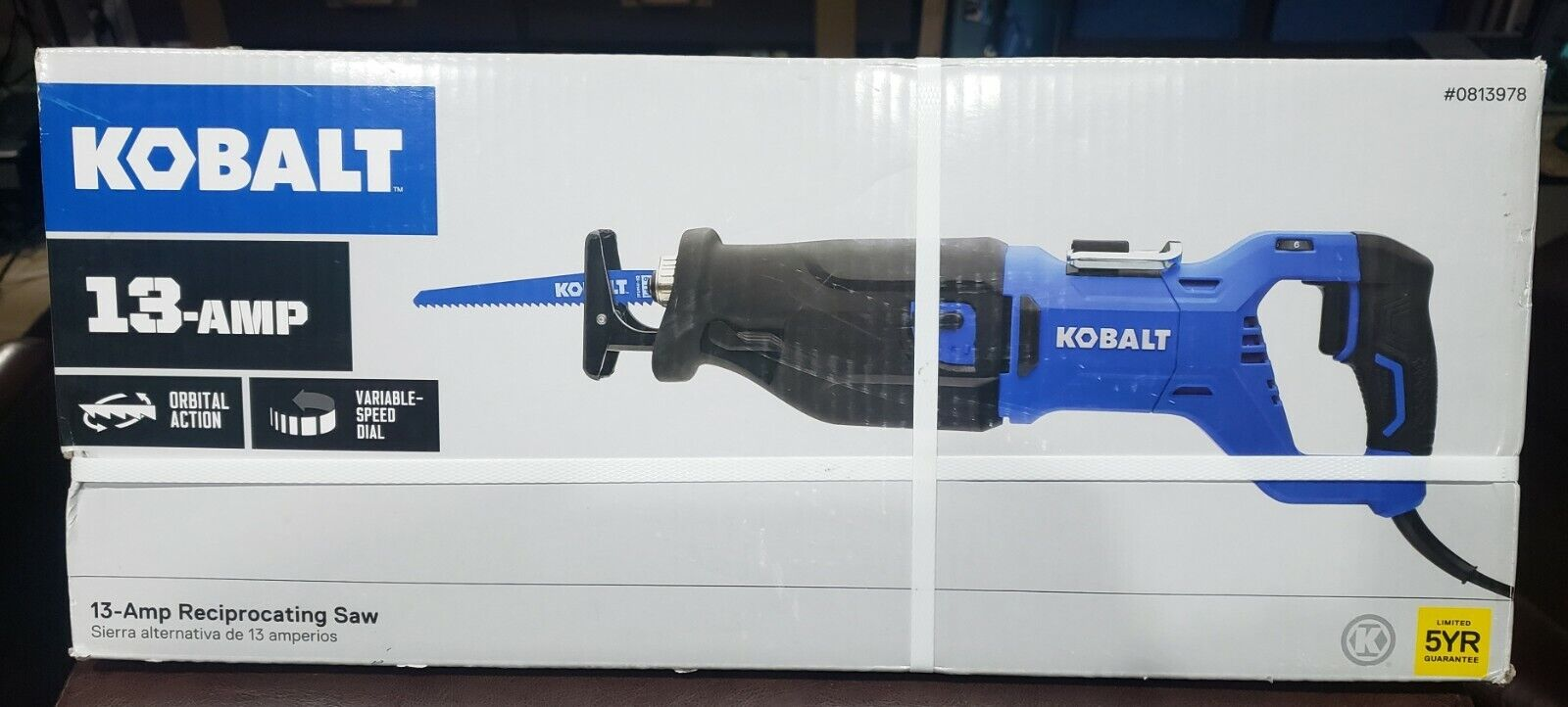 NEW 13-AMP KOBALT RECIPROCATING SAW