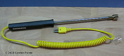 K-type Surface Thermocouple Probe Temperature Sensor Thermometer Straight