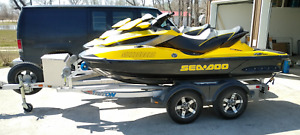 2011 Seadoo RXT - Supercharged 260hp (2 machines w/ trailer)