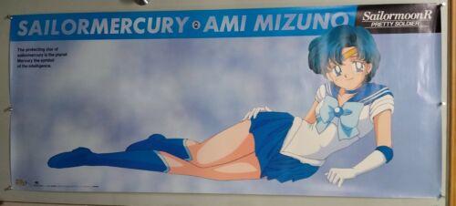 "SAILOR MOON R Anime Life-Size Poster ""Sailor Mercury"" RARE"